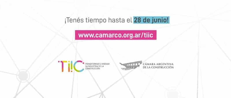 CONVOCATORIA DE EMPRENDEDORES CAMARA ARGENTINA DE LA CONSTRUCCION.